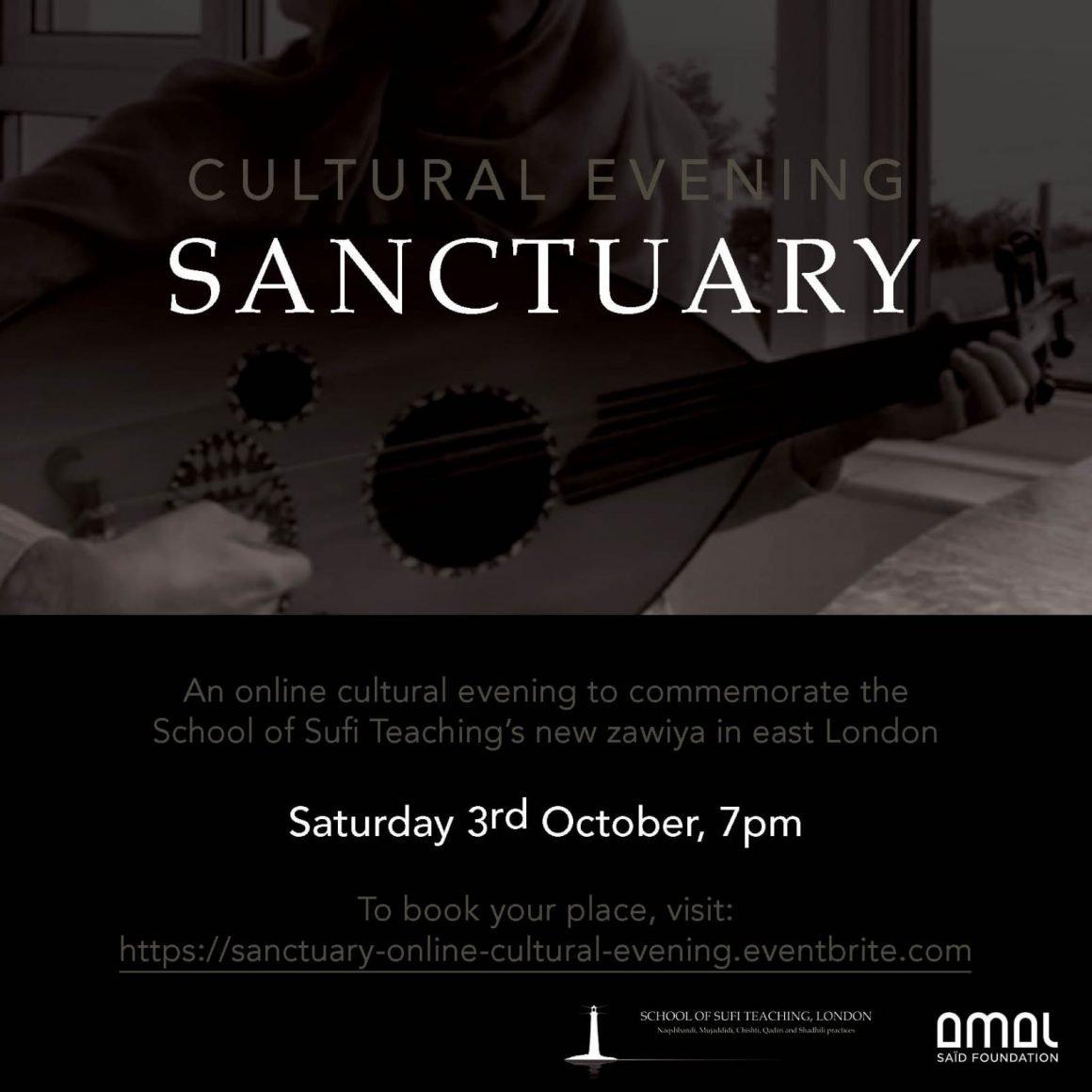 Online Cultural Evening - Sanctuary